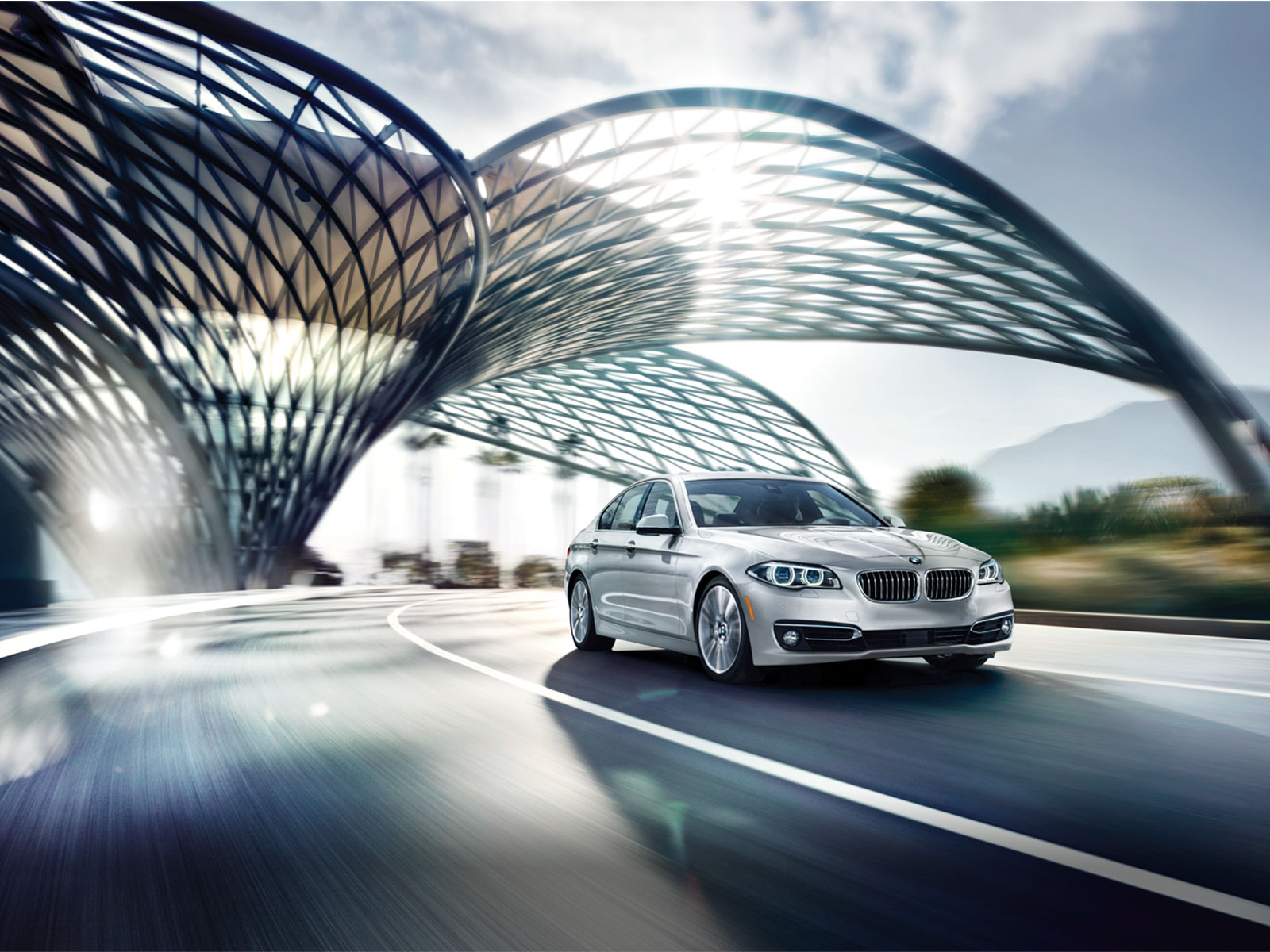 2016 BMW 535i xDrive Silver Exterior