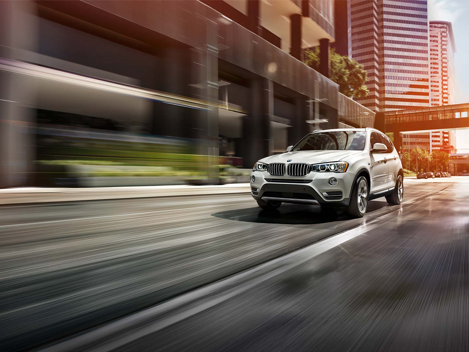2016 BMW X3 xDrive28i Front Exterior in White
