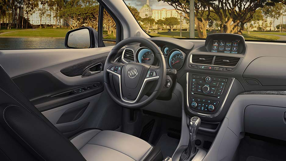 Superb 2016 Buick Encore Refined Interior