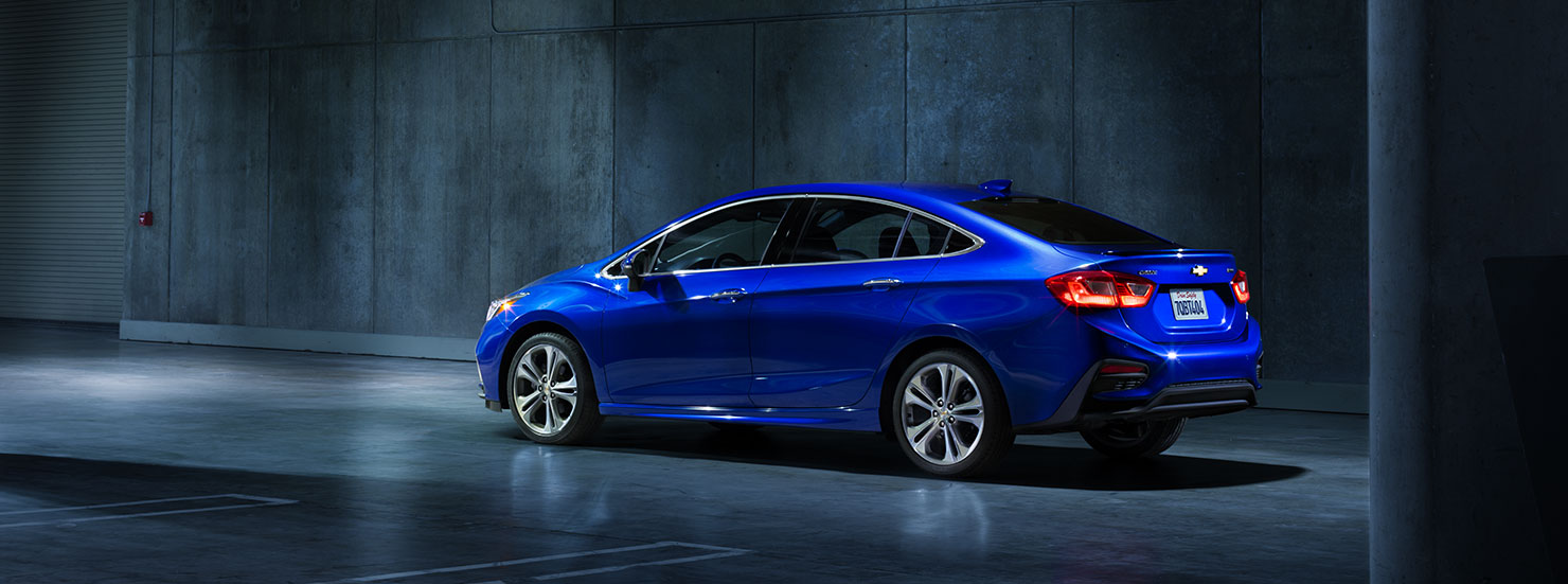 2016 Chevrolet Cruze Rear Exterior Blue