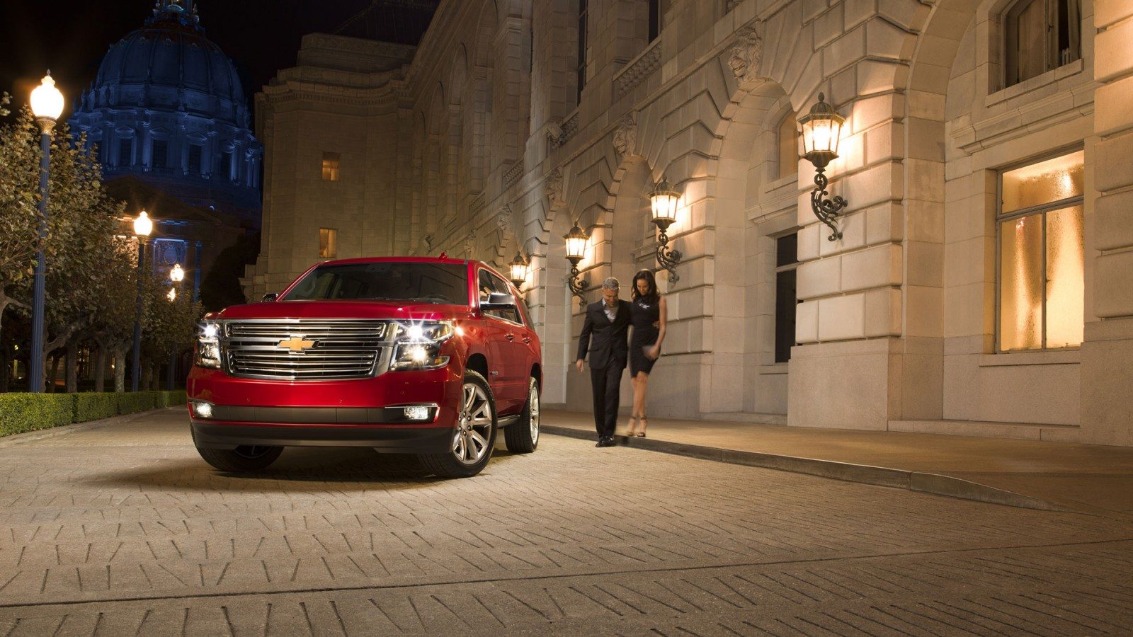 2016 Chevrolet Tahoe Exterior Front Red