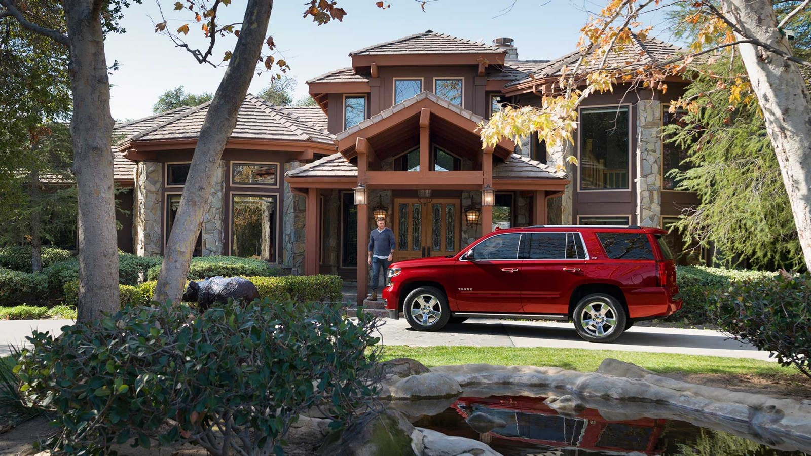 2016 Chevrolet Tahoe Exterior Side Red
