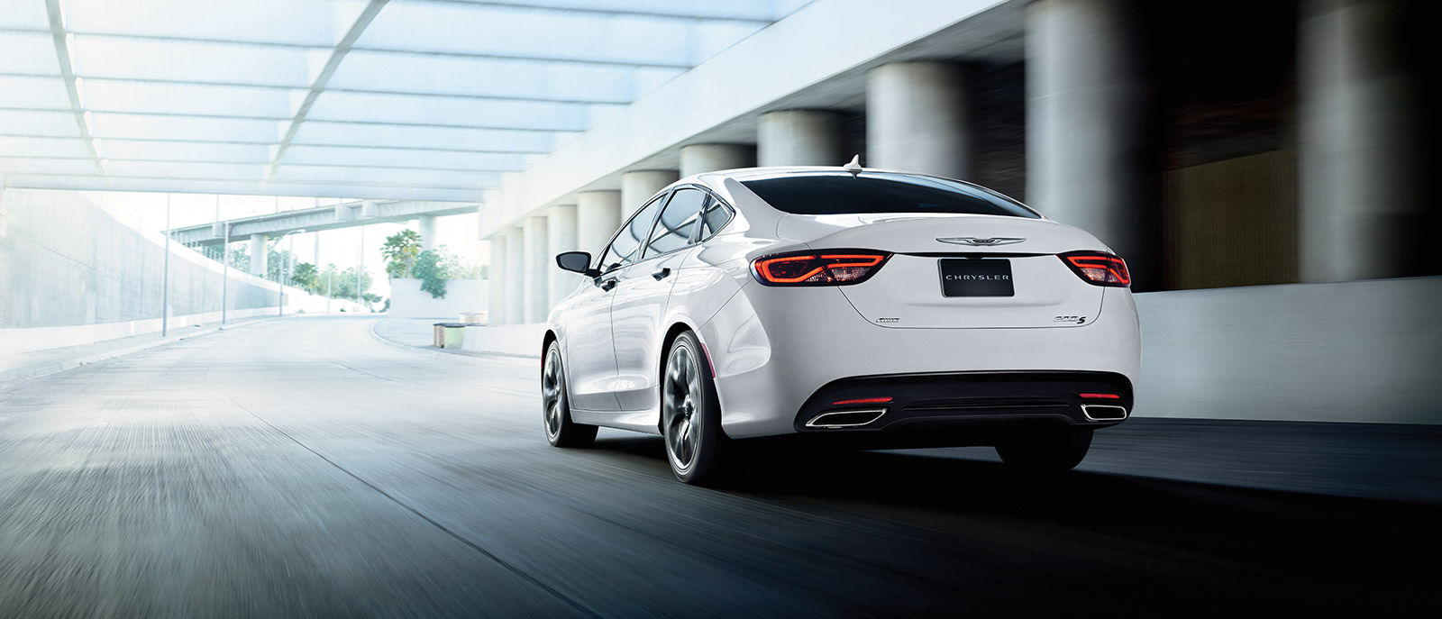 2016 Chrysler 200 Rear