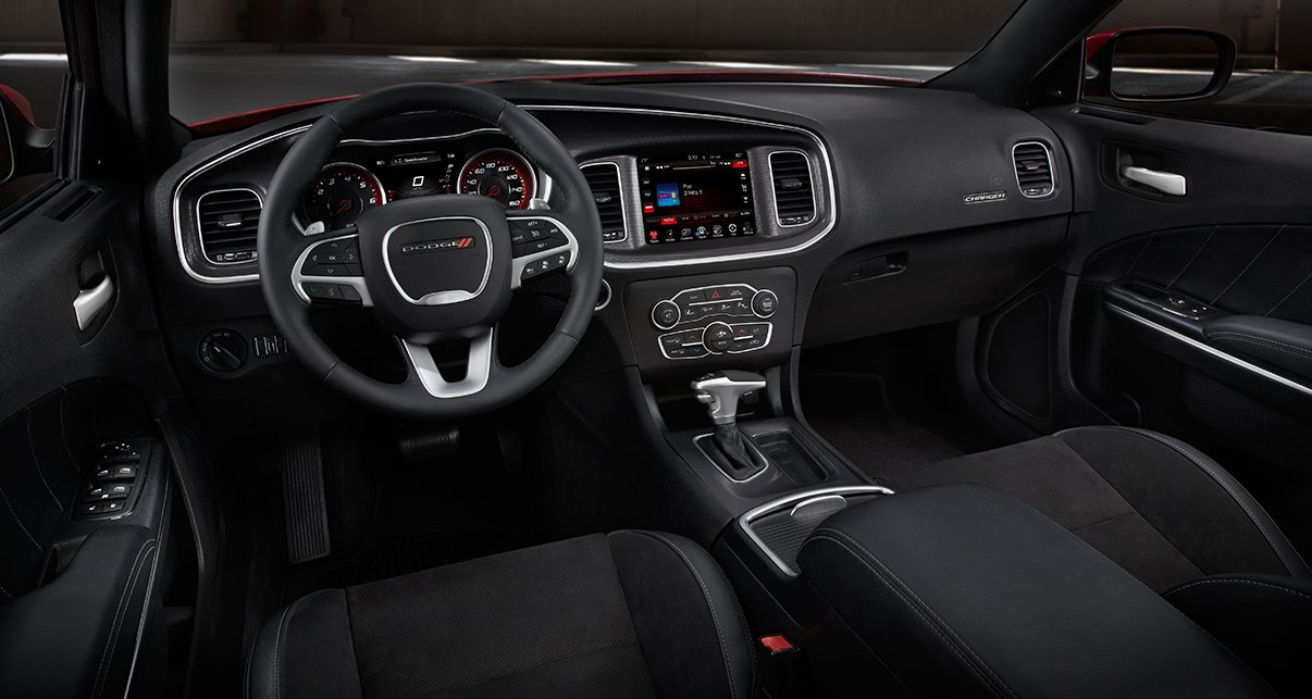 2016 Dodge Charger Premium Leather Interior