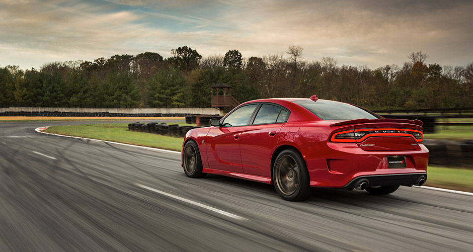 Red 2016 Dodge Charger High Performance Styling Exterior