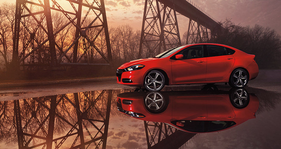 Red 2016 Dodge Dart Performance Exterior