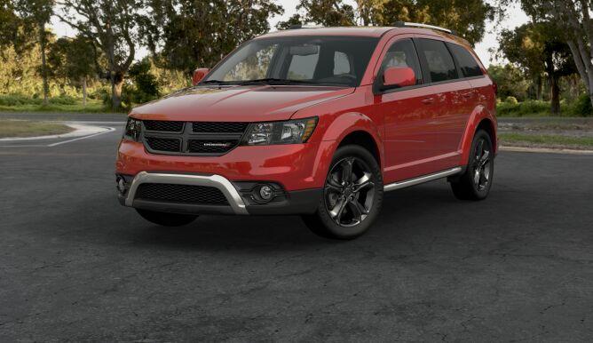 2016 Dodge Journey Crossroad Exterior Front Red