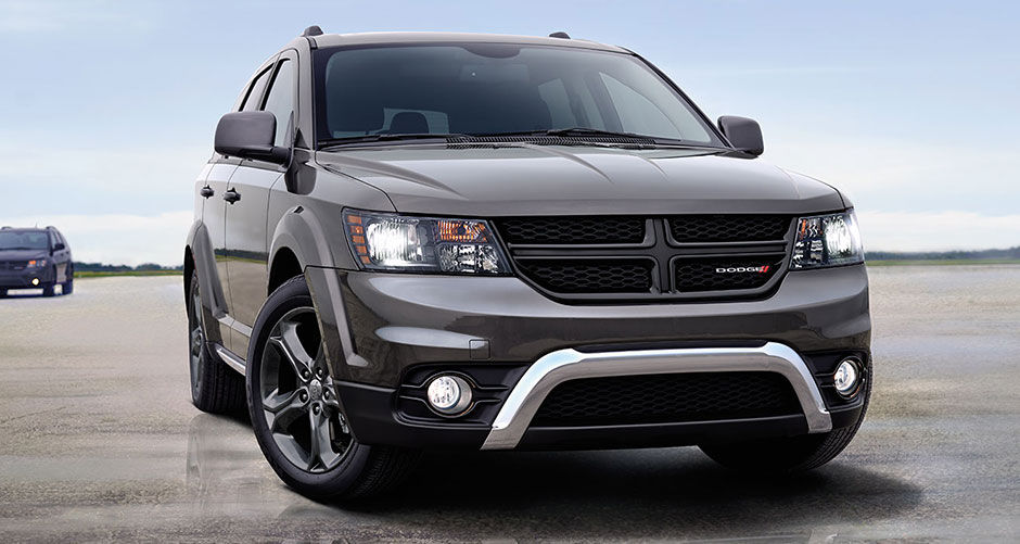 2016 Dodge Journey Black Exterior Front