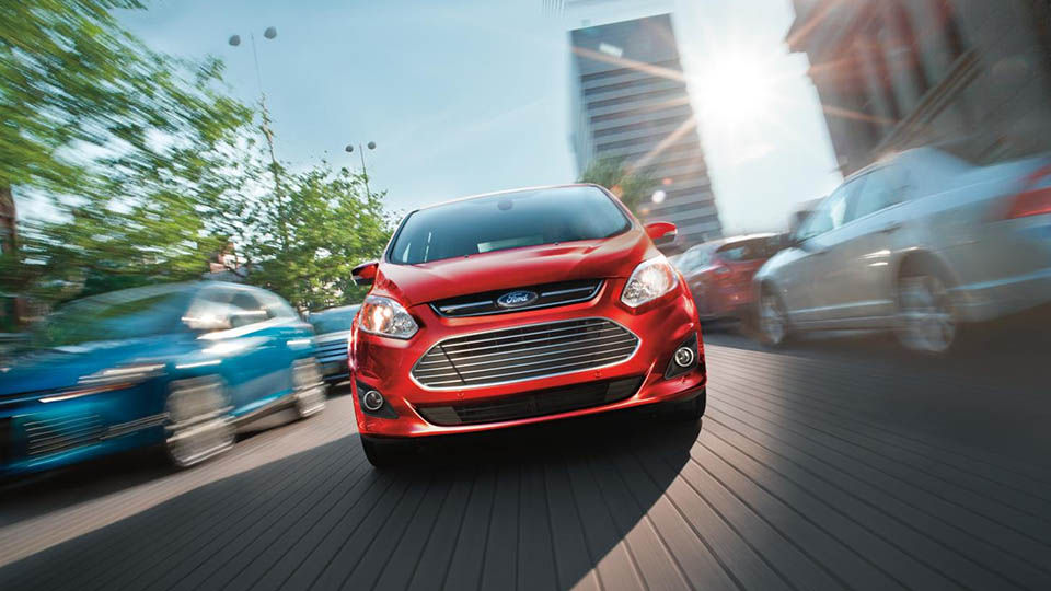 2016 Ford C-Max Energi Exterior Front 2