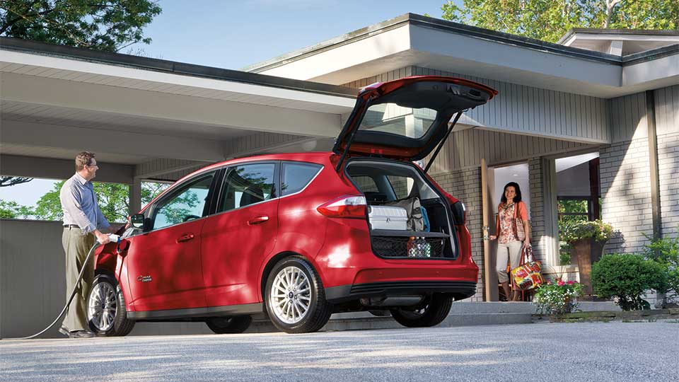 2016 Ford C-Max Energi Exterior Rear Red