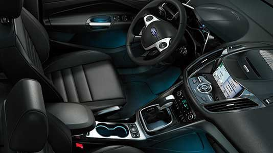 2016 Ford C-Max Energi Interior Overview