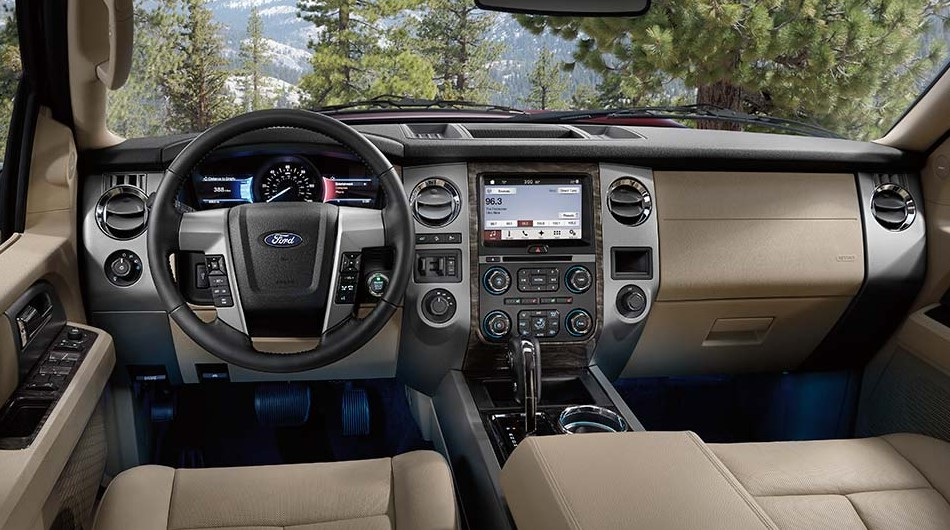 Ford Expedition El Styling Interior Features