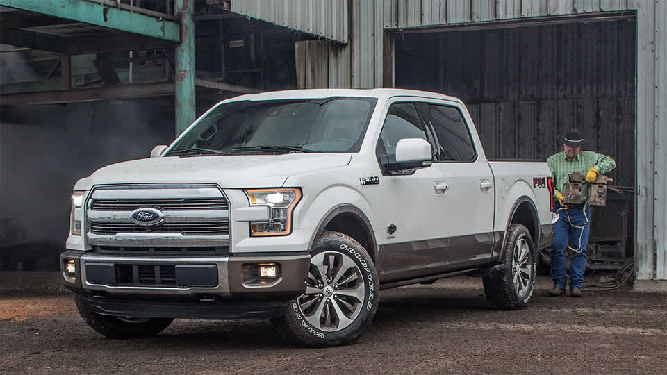 2016 Ford F-150 Front Exterior White