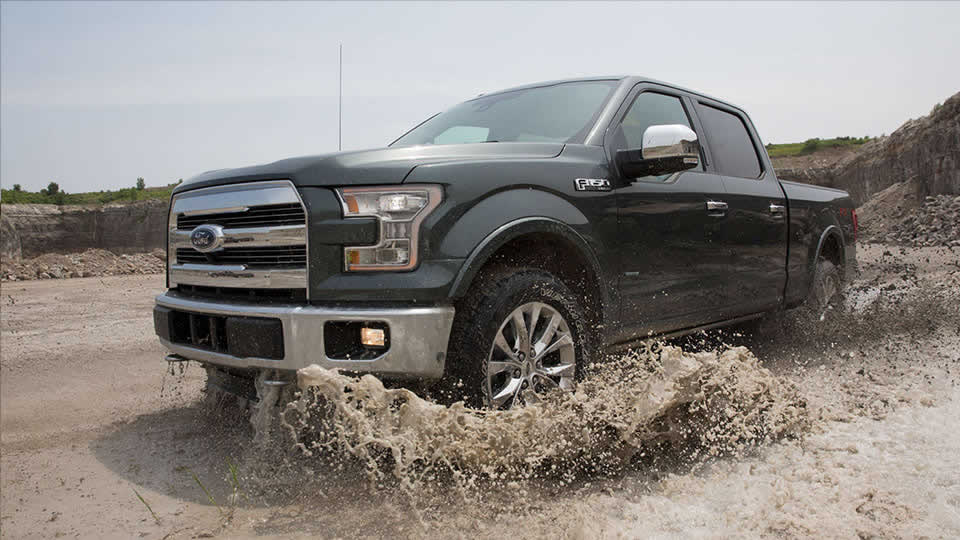 2016 Ford F-150 Front Exterior
