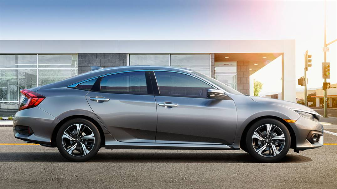 2016 Honda Civic Exterior Gray