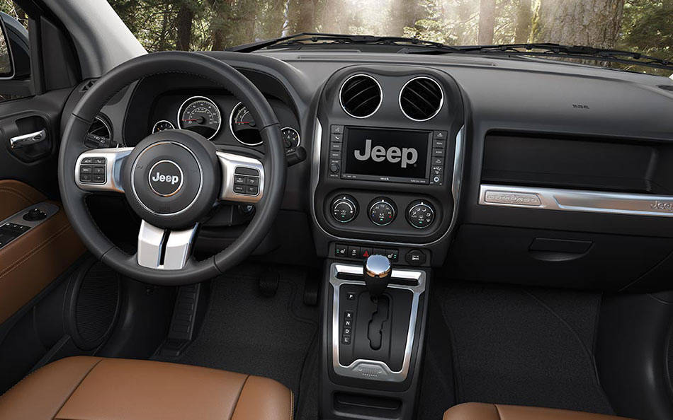Captivating 2016 Jeep Compass Complete Interior