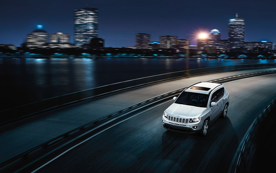 2016 Jeep Compass Front Exterior Topview