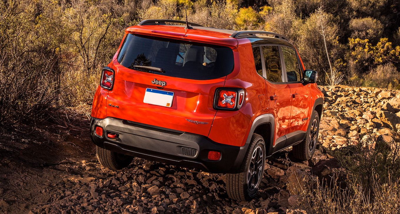 2016 Jeep Renegade Rear Exterior