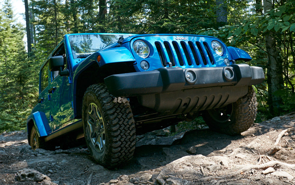 2016 Jeep Wrangler Unlimited Water Forging