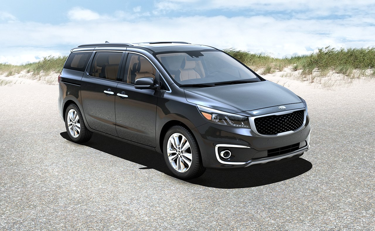 2016 Sedona Black Side View Exterior