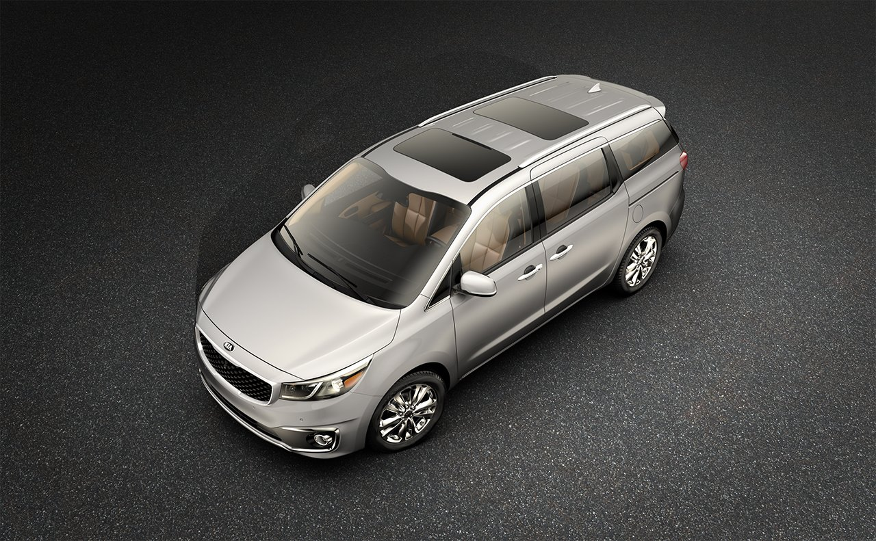 2016 Sedona Gray Top View Exterior