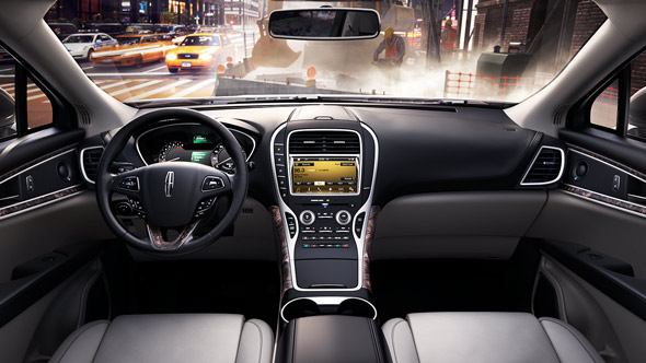 2016 Lincoln MKX Full Gray Interior