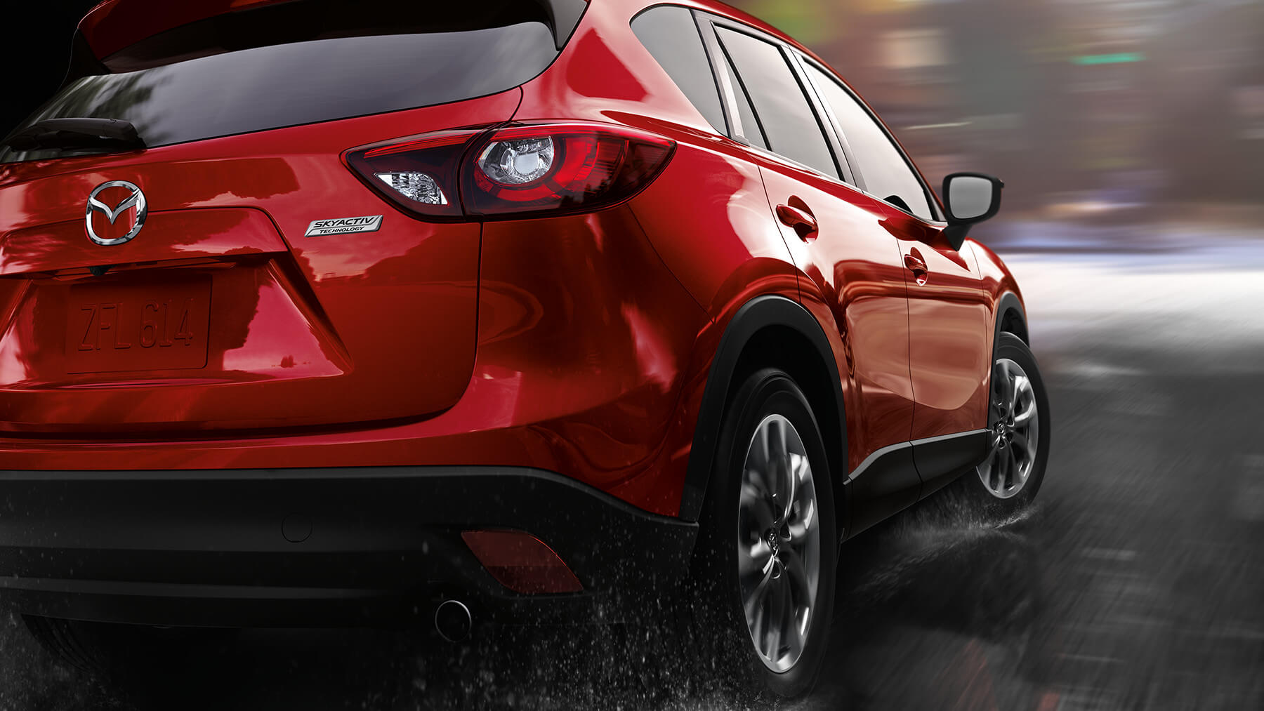 2016 Mazda CX 5 Grand Touring Exterior Red Rear