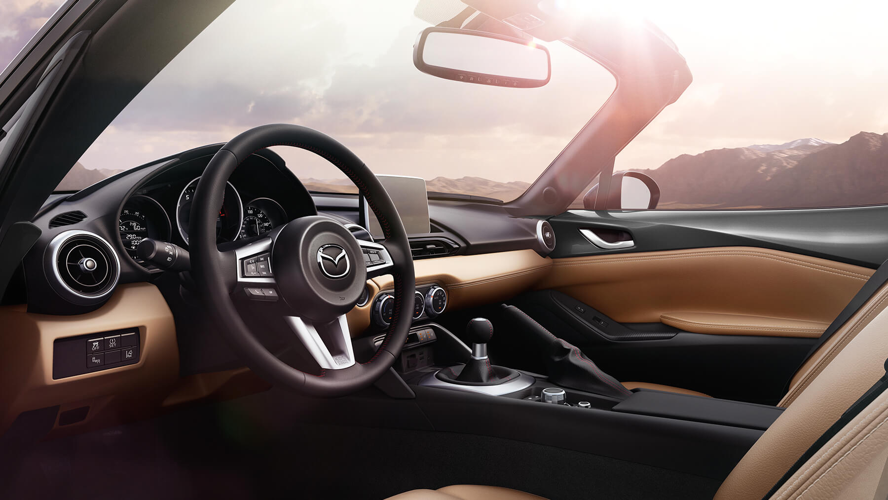 2016 Mazda MX-5 Miata Side Interior