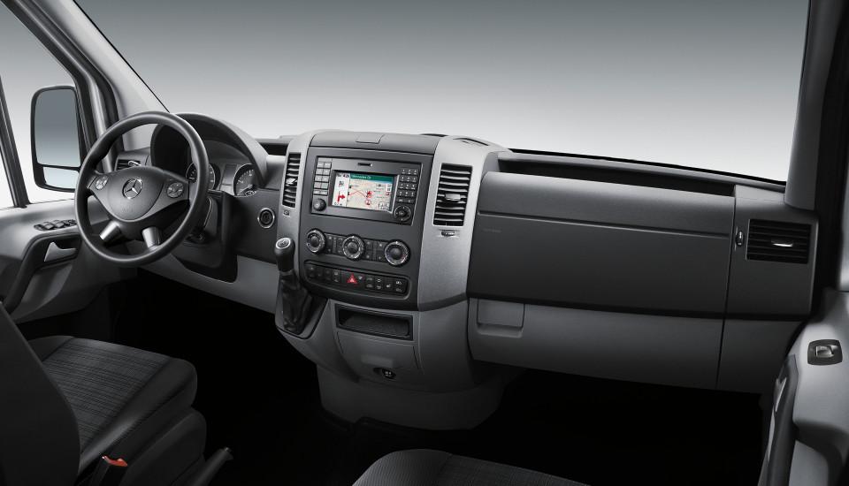 2016 Mercedes Benz Sprinter Passenger Van Interior Front