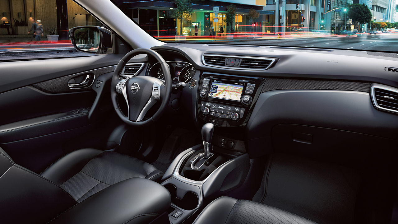 2016 Nissan Rogue Front Interior