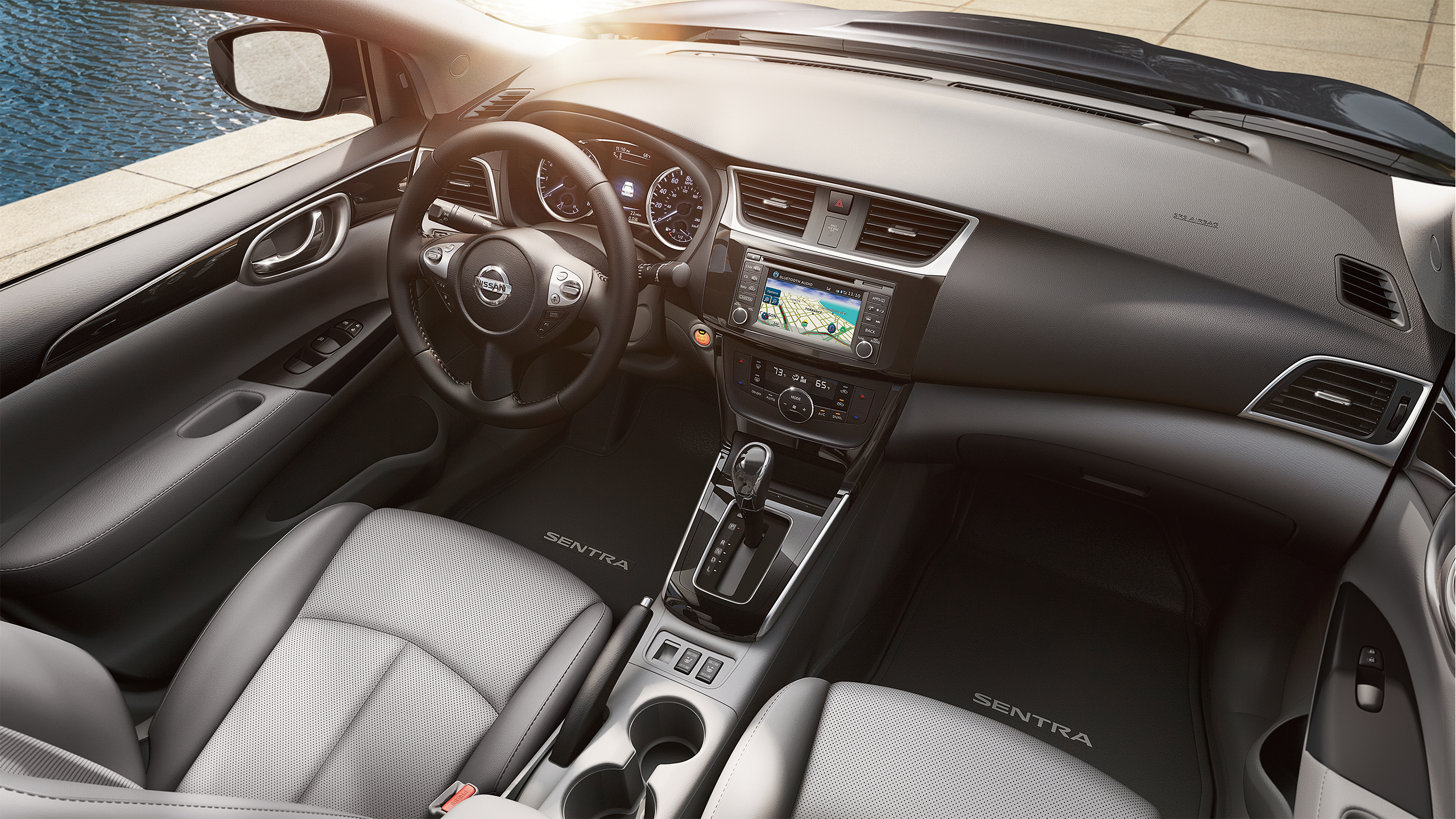 2016 Nissan Sentra Interior Full View