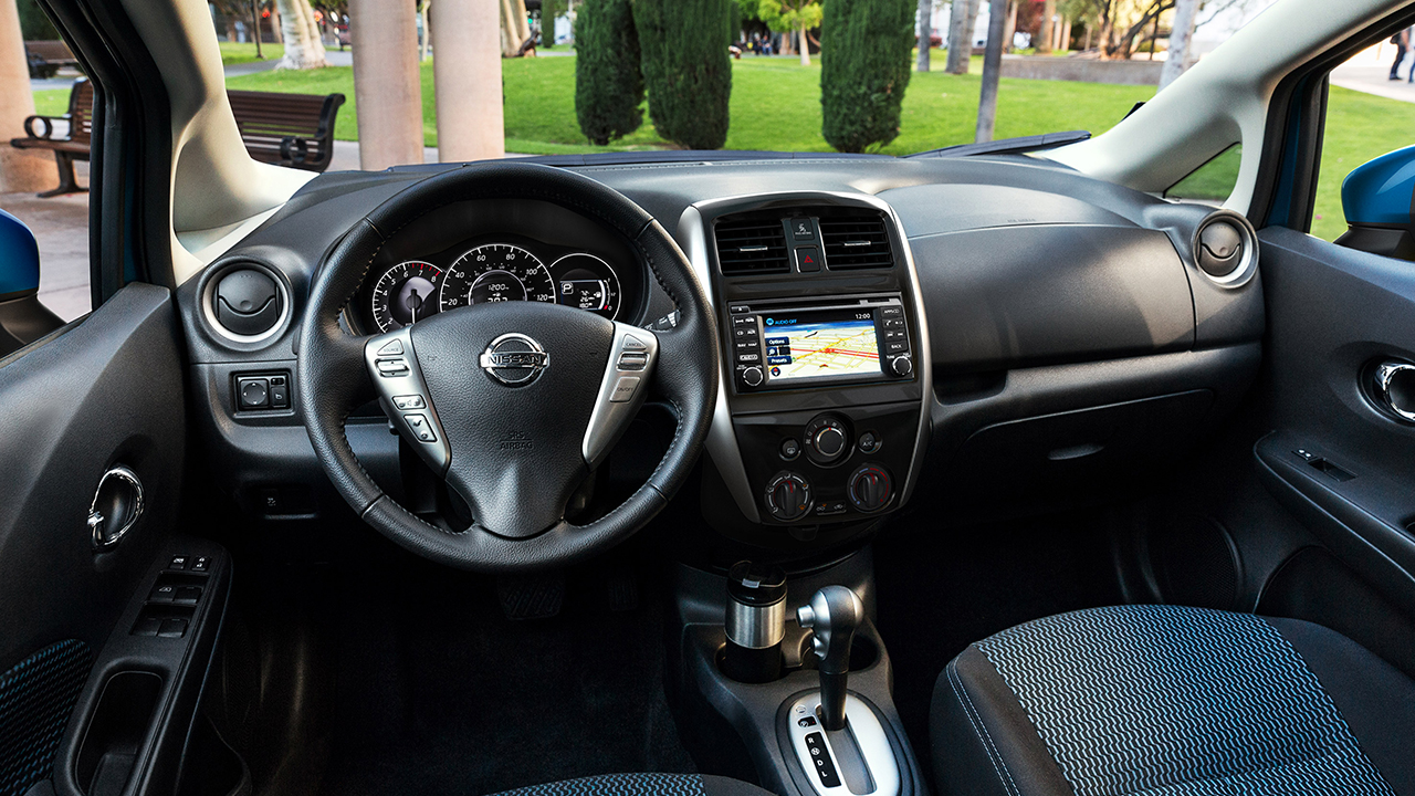 2016 Nissan Versa Note Interior