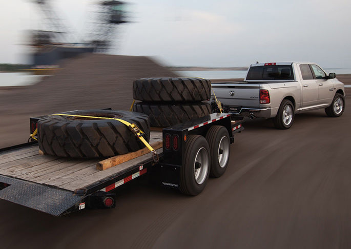 2016 Ram 1500 Silver Exterior Hauling