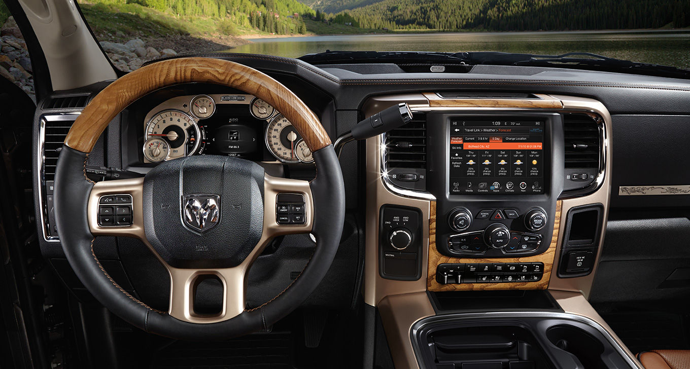 2016 Ram 2500 Dashboard Interior