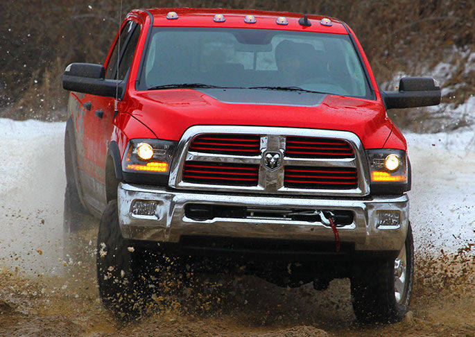2016 Ram 2500 Exterior Front Grille Exterior Red