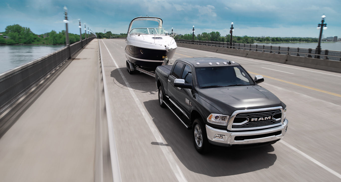 2016 Ram 2500 Exterior Front Grille Exterior Towing