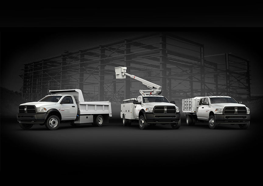 2016 Ram 3500 Chassis Exterior Lineup