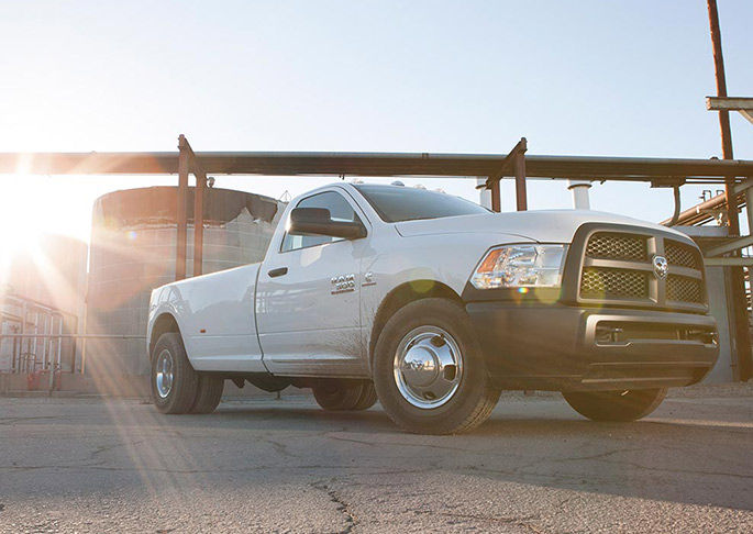 2016 Ram 3500 White Exterior Side View
