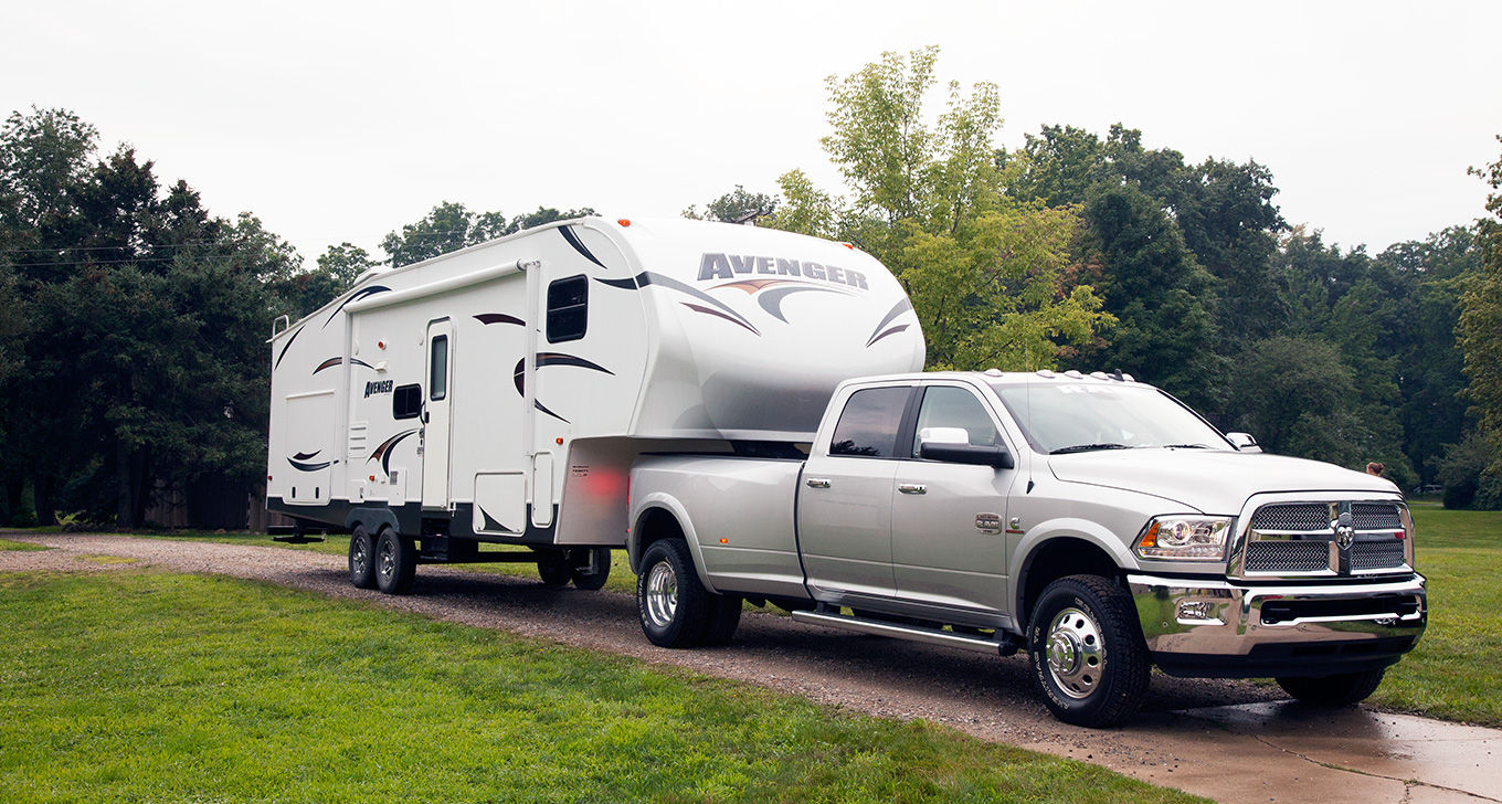 Silver 2016 Ram 3500 Towing Capability Exterior