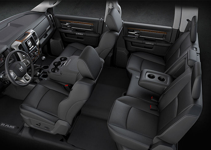 2016 Ram 5500 Chassis Interior Seating