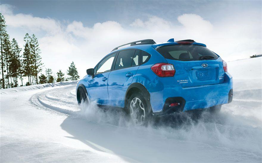 2016 Subaru Crosstrek Hyper Blue Rear Exterior
