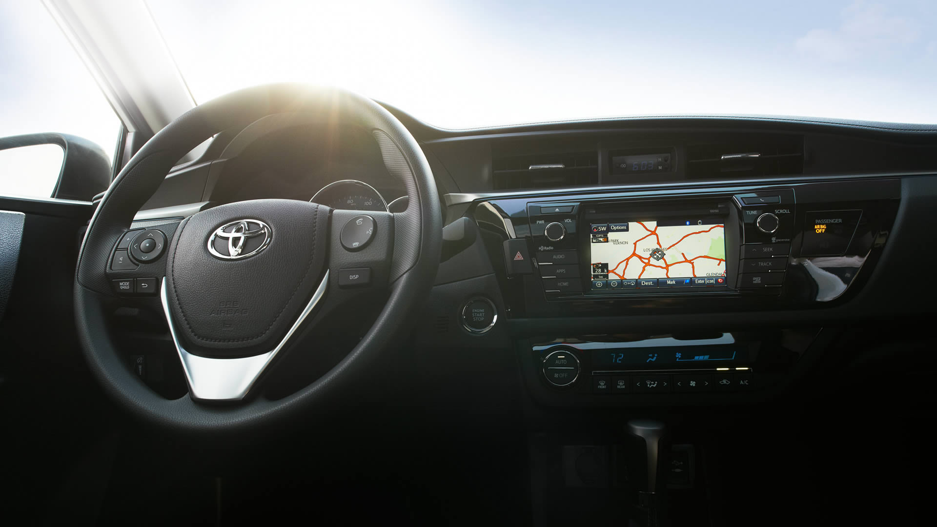 2016 Toyota Corolla Interior Rear