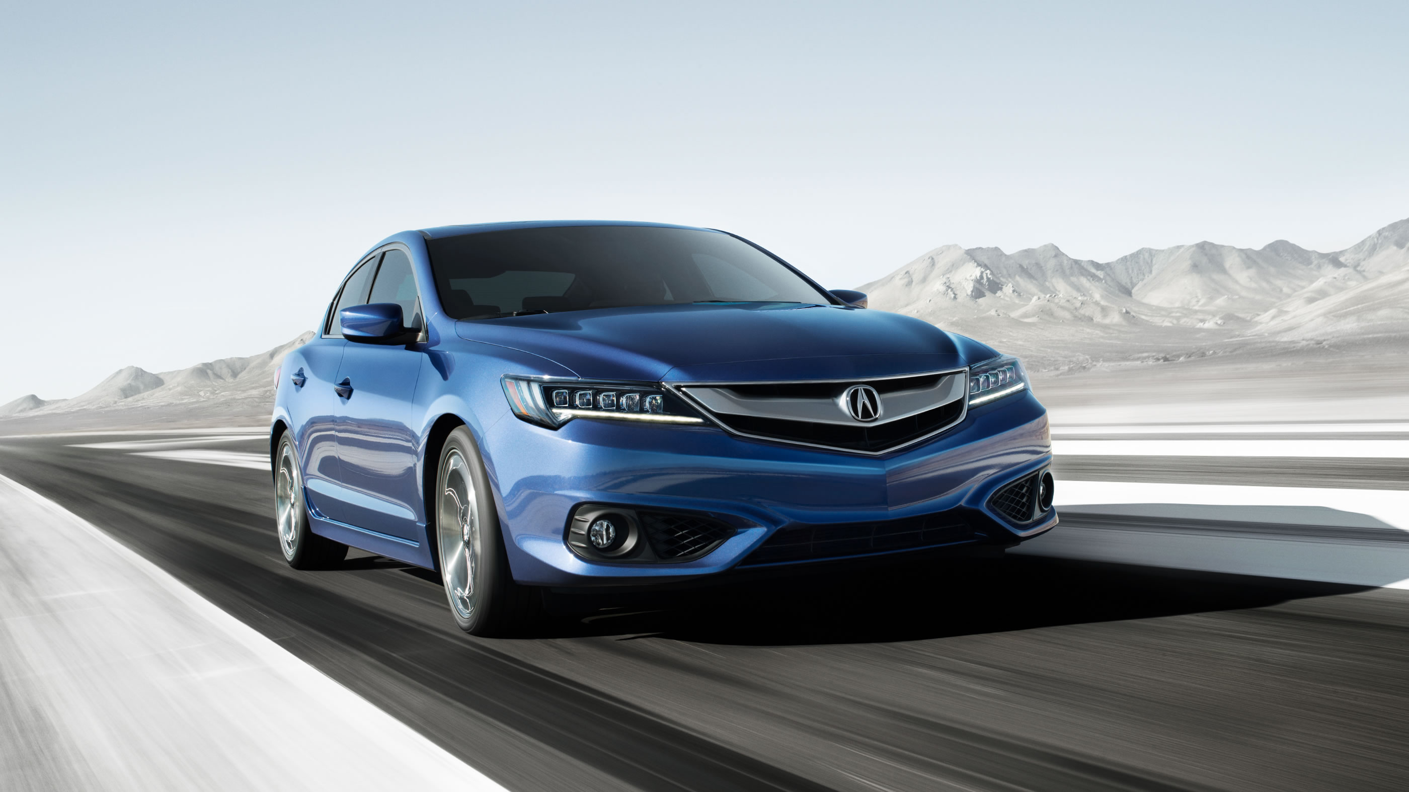 2017 Acura ILX with Premium Package Front Blue Exterior