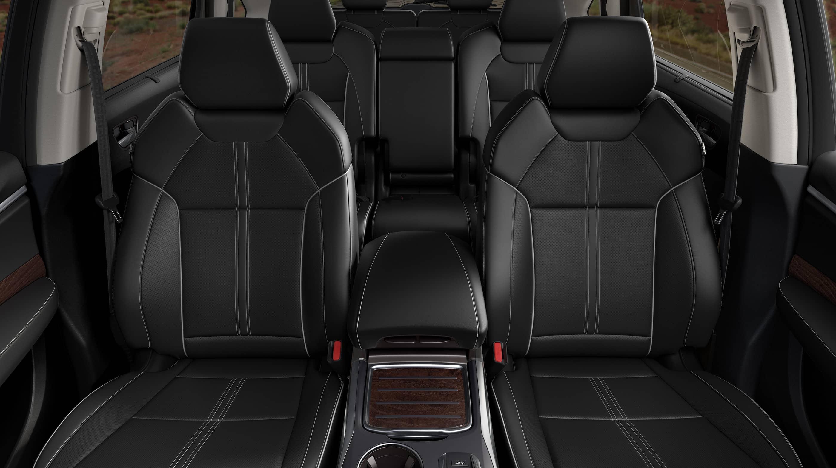 2017 Acura Mdx Sport Hybrid Ebony Leather Interior Seating Jpg