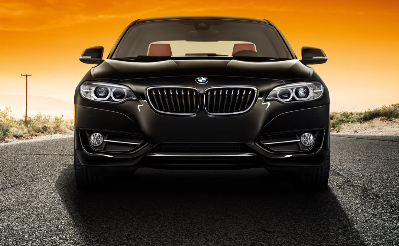 2017 BMW 230i Coupe Black Front Exterior