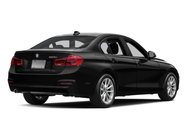 2017 BMW 320i xDrive Exterior Rear Black.png