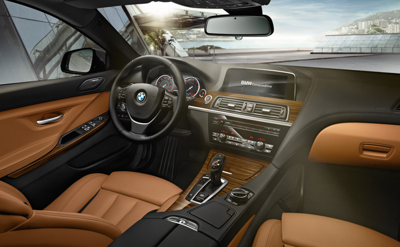 2017 Bmw 650i Gran Coupe Leather Interior Dash And Steering Wheel Jpg