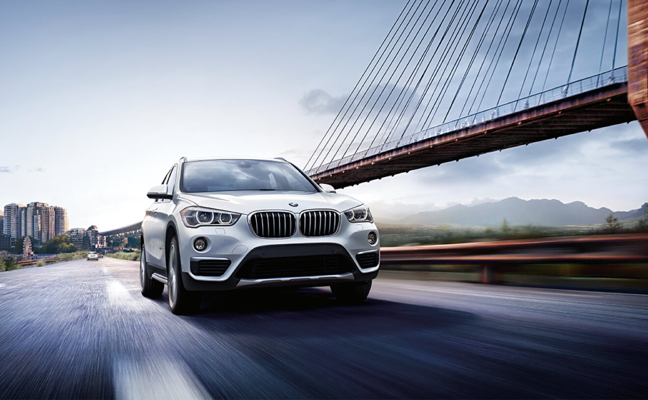 2017 BMW X1 xDrive28i Front Exterior Silver