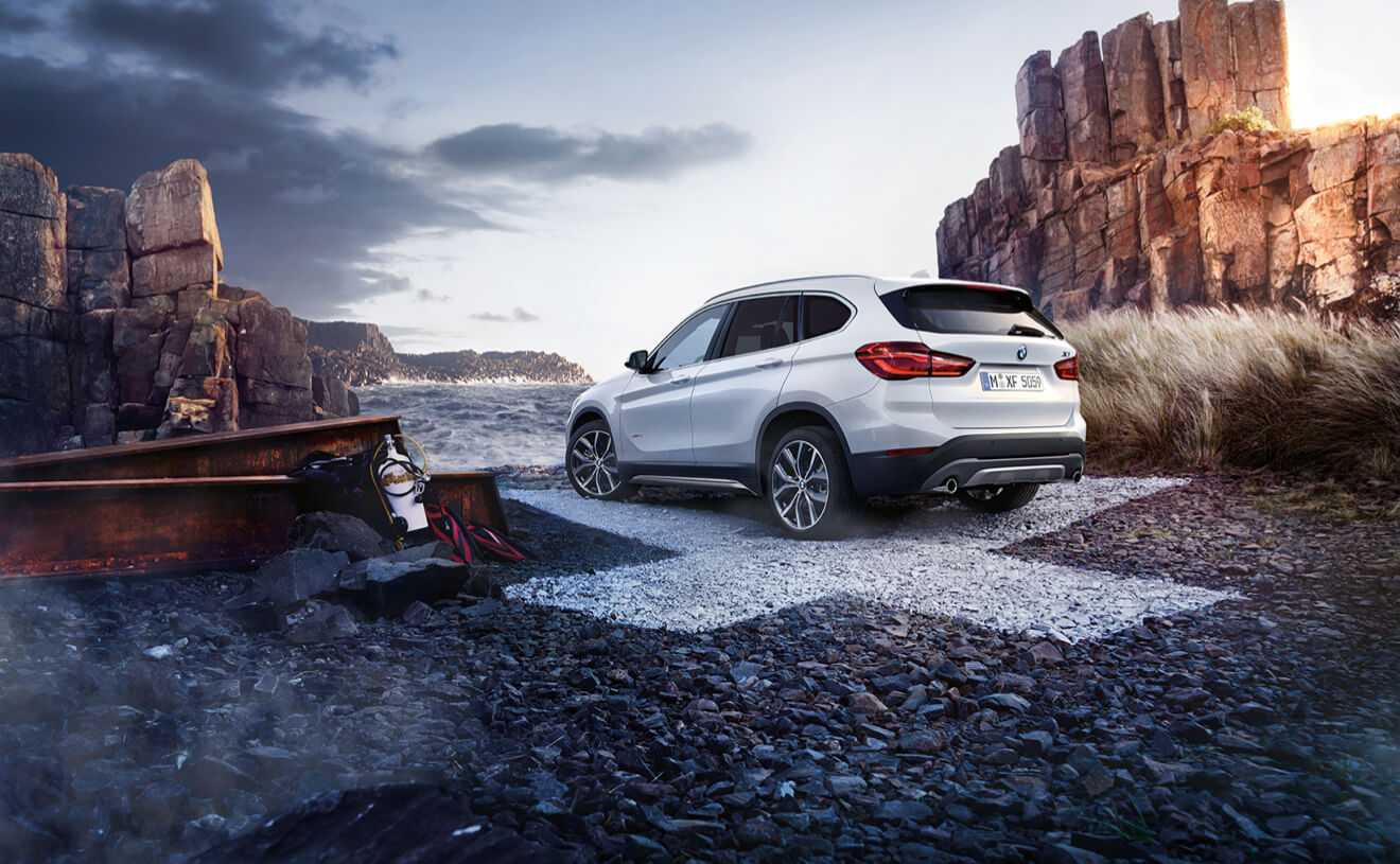 2017 BMW X1 xDrive28i Side Exterior Silver