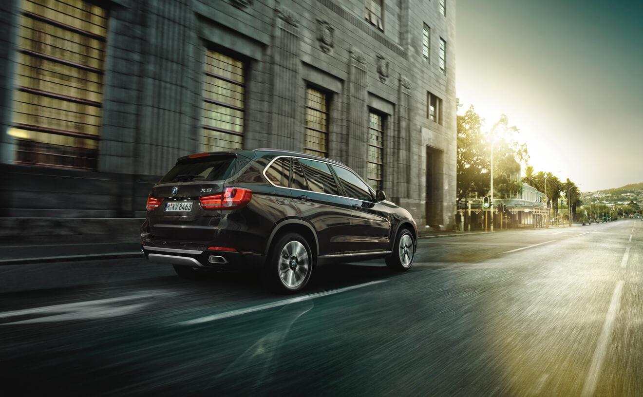 2017 BMW X5 XDrive35d Brown Exterior Rear View